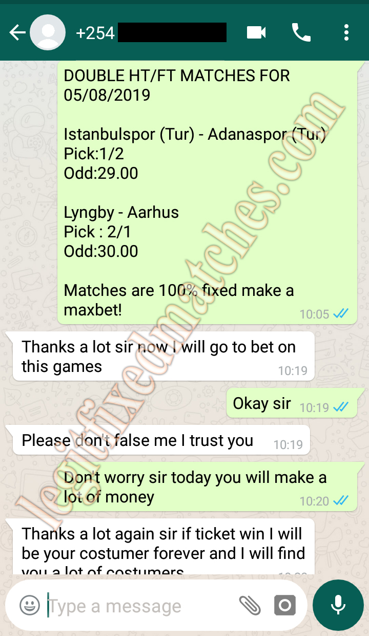 secure fixed matches 100%