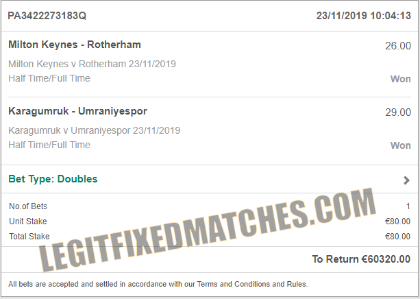 secure fixed bets 100% sure