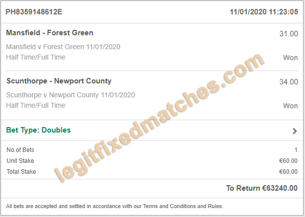 safe soccer fixed bets 100%